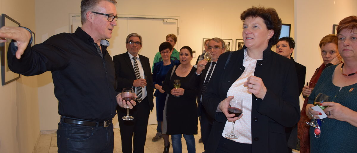 Vernissage Landtag Potsdam